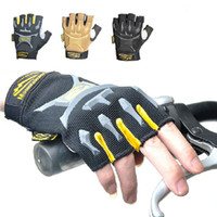 Wholesale MECHANIX Half Full finger Glove For Racing Airsoft Hunting Cycling Gloves