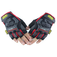 Wholesale 2013 NEW MECHANIX Wear M Pact Half Full finger Glove For Outdoor Racing Hunting Cycling Gloves