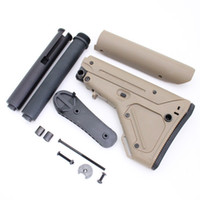 Wholesale Drss In Retail Box UBR Stock With Tubes For AEG And GBB And Butt Pad For AR15 M4 M16 Dark Earth DE