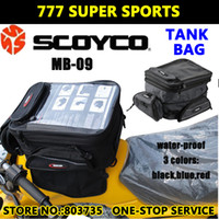 Wholesale Scoyco MB09 Water Proof Motorcycle Tank Bag For Long Distance Cycling