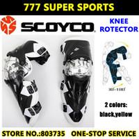 motocross gear - Hot Sales Original CE Scoyco K12 Motorcycle Knee Protector Motocross Racing Guard Pads Protective Gears