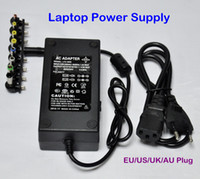 Wholesale 96W Universal Laptop Power Supply v AC To DC V V V V Adapter For Laptop Notebook EU Plug