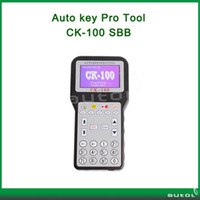 Wholesale 2013 Auto key pro CK100 Auto Key Programmer CK V37 updata version for Silca SBB