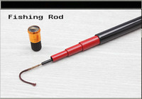 Wholesale HOT SALE High grade Fishing Rod Tele Rod fishing lures Fishing Reel Fishing Hook Fishing Line Fishing Tackle Sea Fishing FR000602YLA