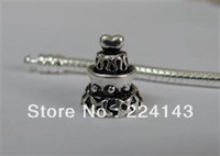 Wholesale sterling silver mm diameter fit Pan chains birthday cake charms beads new