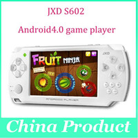 4.3 & amp ; quot ; Sandwich JXD S602 gelado Android4.0 OTG HDMI Capacidade Jogo Touch Tela jogo consola portátil 4G Multi Language Drop Shipping 000482