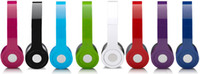 Wholesale On Ear wired iheadphone with AAA quality in black white red dark blue purple orange pink light blue green