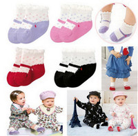 Wholesale Combi Baby Socks Children s Socks Cotton Color Baby Socks Child s New Baby Knitted Socks WAZI008