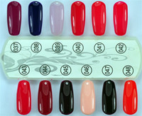 Wholesale hot selling Professional Color nail polish uv gel nail polish with MSDS amp SGS