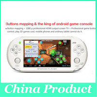 Wholesale 5 Inch JXD S5110B Portable Game Players Android Amlogic M6 Dual Core Game Tablet PC GB GB from cn kingtop