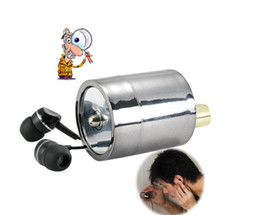 Wholesale Wall Audio Wiretap Listening Device fold ear listening Amplifier On Wall Door Eavesdropping spy audio bug