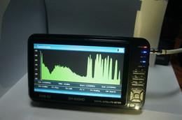 Comercio al por mayor 10 Sathero SH- 600HD DVB -S2 Satellite Finder Medidor digital de alta definición con analizador de espectro LCD de 7 pulgadas desde buscador hd sathero fabricantes