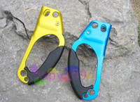 Wholesale outdoor climb risers mountaineer climbing ascender tool anti dropping device protector hand risers Jumar clamp jumat Handheld