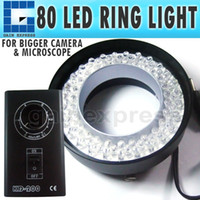 KD-200   KD-200 Microscope Ring Light 80 LED Camera CE Illuminator warm white 70mm max diameter 50 - 240mm Working distance