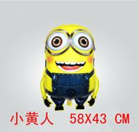 Wholesale Despicable me cm minion hydrogen balloon cartoon balloon children s toy