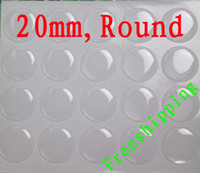 Wholesale 100pcs mm Round Clear Epoxy Resin Sticker epoxy domes clear domes