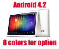 LSQ 7 inch Dual Core Promotion 7 inch Allwinner A23 Dual Core 1.5G Dual Camera Q8 Q88 Tablet pc Android 4.2 Jelly bean 512M DDR3 4GB play store 10colors