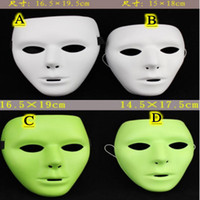 Wholesale Halloween Mask Shuffle Dance Masks White Hip hop Mask Masked Ghost Step Dance Mask