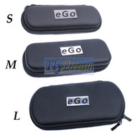 Wholesale Ego Case Ego Bag Gift Box Zipper Carrry Case Small Middle Large Size With LOGO Suit For Ego Kit Ego t Ego w E Cigarette Multi Color Flydream
