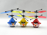 Electric Ready-to-Go Carbon Fiber 2013 HOT Sell Induction birdie infrared remote control toys Hands induction flying,gift ,Send induction racket Free shipping