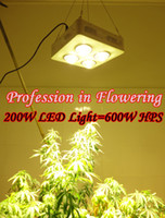 Wholesale 200W COB LED grow light W HPS Professional in flowering K High lumen high concentration more energy efficient