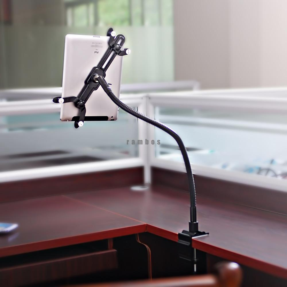 Bed Ipad Holder tablet desktop holder mount gooseneck stand arm holder on desk