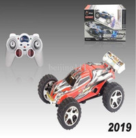 Wholesale Special Kids Toys for New Year WL High speed Mini Remote Controll Electric Car km hour Toys for Children