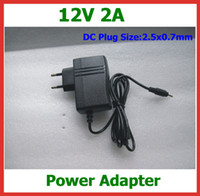 Wholesale 12V A Power Adapter DC x0 mm EU US Plug Charger for Yuandao N101 II Cube U9GT2 U9GT5 Ainol Hero Chuwi V9 W22pro