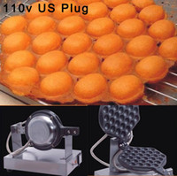 Wholesale to United States Canada Japan V Stainless Steel Electric Eggettes Egg Waffle Maker