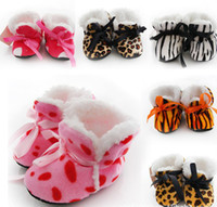 Wholesale 10 off Hot Winter Thick Socks baby home shoes small leopard print baby shoes toddler shoes socks cheap shoes baby wear pairs J