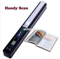 Wholesale Wireless Portable Scanner SKYPIX TSN410 Handheld Scanners Handyscan Color Hand film Scanner document photo scanner