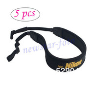 Wholesale 5 Soft Neoprene Neck Strap yellow for Nikon D800 D800E D4 D3x D3s D2s D700 D400 D300 D200 D100 D7100 D5200