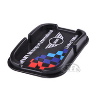 Wholesale MINI Motorsport Multi functional car Anti Slip pad Rubber Mobile Sticky stick Dashboard Phone Shelf Antislip Mat For GPS MP3 Cell Hold