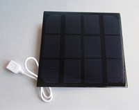 Wholesale High Quality W Solar Charger Monocrystalline Solar Cell Solar Panel USB Solar Mobile Charger Dropship