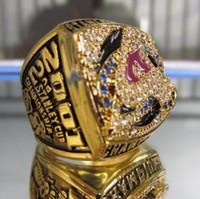 2001 C Avalancha STANLEY CUP Campeonato anillo Replica tamaño 11 EE.UU. mejor regalo para la colección de fans de alta calidad