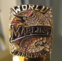 2003 Florida Marlins STANLEY CUP Campeonato anillo Replica de tamaño 11 EE.UU. el mejor regalo para la colección de fans de alta calidad