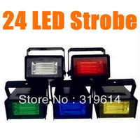 Wholesale 1pc LED Flash lamp Party Disco Mini Strobe stage Light DJ Lighting color for Choice Dropshipping B180