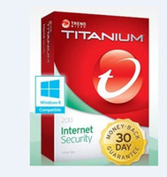 Antivirus & Security Internet Windows Code for Trend Micro Titanium Internet Security 2014 2013 1yr 1pc