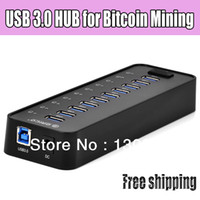 Wholesale USB ports High Power USB HUB for Bitcoin Mining