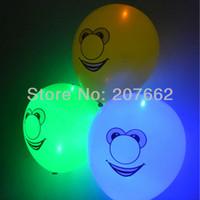 Wholesale inch Latex Ballons led balloon party supplies halloween balloons party decoration for halloween props