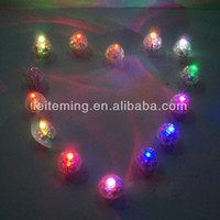 Cheap free shipping 100pcs lot 10mm LED Balloon Paper Lantern Battery Operated Lights Wedding Party Decor