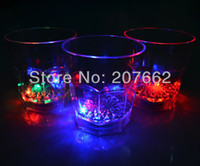Wholesale ML plastic colorful led flashing beer cup wine mug for club party Drink Cup Plastic Barware