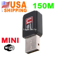 Wholesale US Stock To USA CA M USB WiFi Wireless Network Card n g b LAN Adapter UPS Dropship
