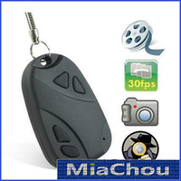 None   MINI SPY CAR KEY HIDDEN CAMERA 808 KeyChain Digital CAM Chain DV DVR WebCam Camcorder Video Recorder