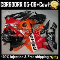 Injection F5 For HONDA CBR600 RR CBR600F5 Repsol 05 06 CBR 6...