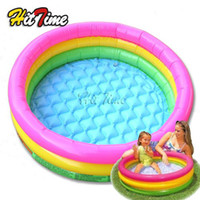 Wholesale Inflatable Swim Rings Baby Kids Toddler Seats Garden Swimming Tubes Pool Fun