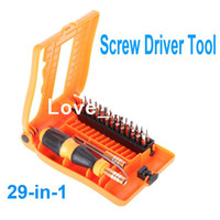 Screwdriver Set Slotted H9706 29-in-1 Interchangeable Professional Versatile Hardware Screwdriver Tool Kit with Carry Box Free Shipping wholesale