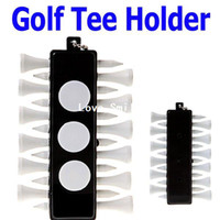 Wholesale Golf Tee Holder Carrier with Wooden Tees amp Ball Markers amp Key Chain