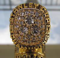 Petroleros de 1987 Campeonato Copa Stanley tamaño Replica anillo 11 de Estados Unidos el mejor regalo para los fans de la colección de alta calidad