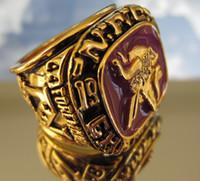 1973 M Vikingos Campeonato del Mundo anillo Réplica de tamaño 11 con NOSOTROS el mejor regalo para los fans de la colección de Alta Calidad